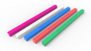 factory Outlets for Silk Printing Hard Squeegee Rubber Blade With