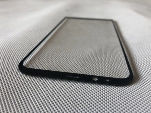 Mobile phone 3D cover glass curved screen printing squeegee//SPS-FGB-Q