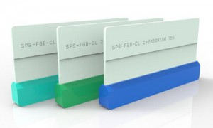 Touch screen fiberglass board squeegee for cover lens